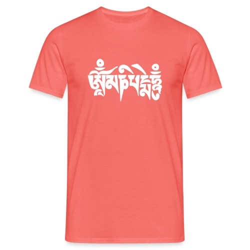 om mani padme hum - Männer T-Shirt
