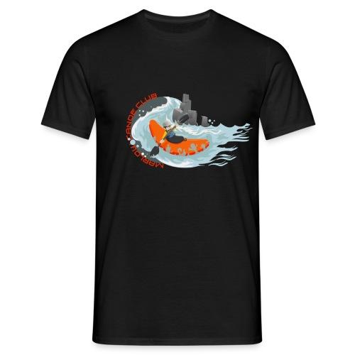 kayakillust2 - Men's T-Shirt