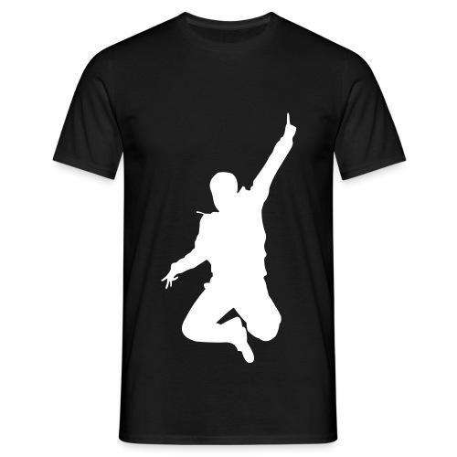 Jumping Man - Männer T-Shirt