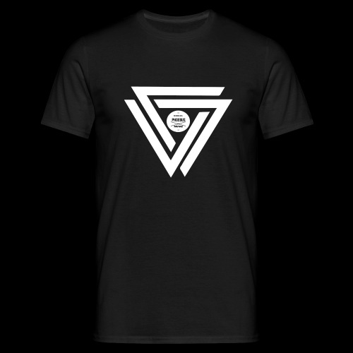 08 logo complet withe - T-shirt Homme