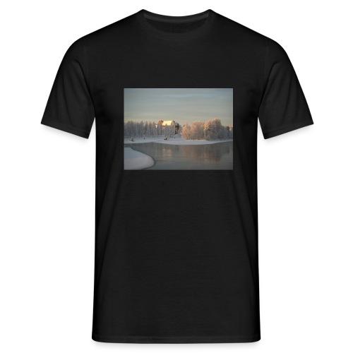 Talvinen Joensuu - Miesten t-paita
