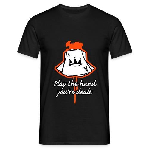 kos 08 card fix - T-skjorte for menn