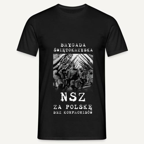 brygada ze zdjęciem2 - Koszulka męska