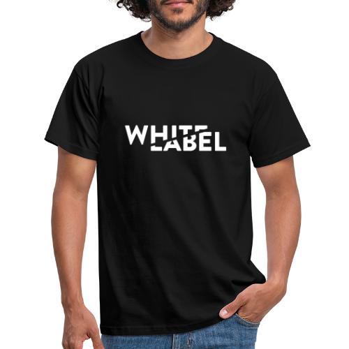 White Label Logo White - Maglietta da uomo