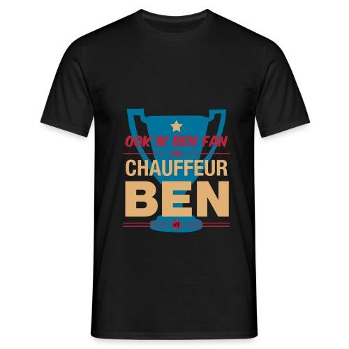 Chauff ben shirt - Mannen T-shirt