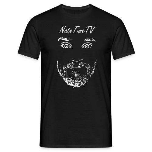 nttvfacelogo2white - Men's T-Shirt