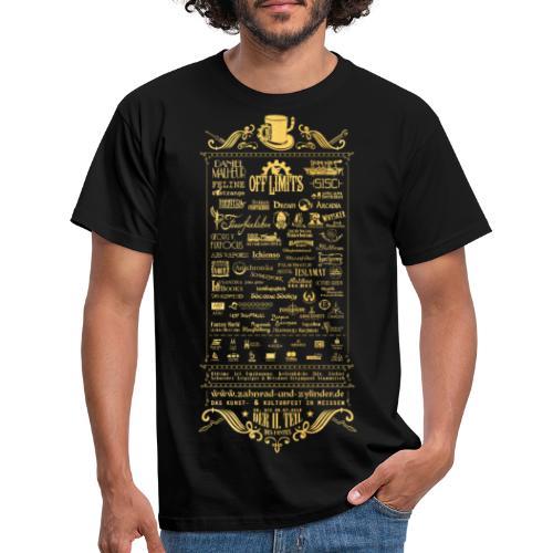 ZuZ 2018 back texture - Männer T-Shirt