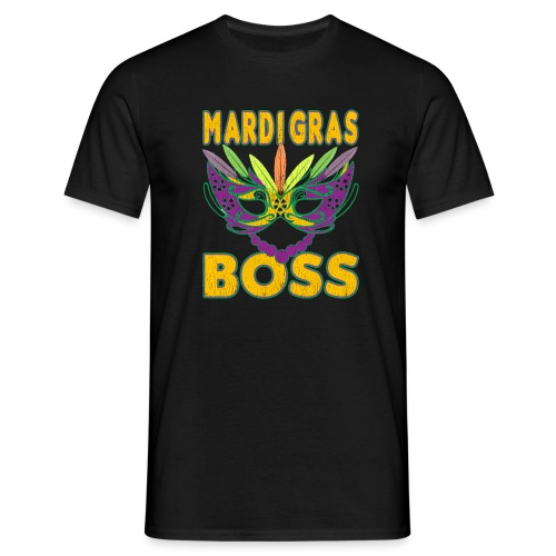 Funny Mardi Gras Boss Shirt Party Carnival gift - T-shirt Homme