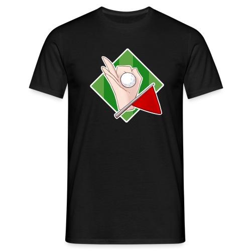 Minigolfgutta Logo - T-skjorte for menn