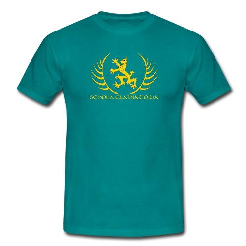 Schola logo with text - Men's T-Shirt