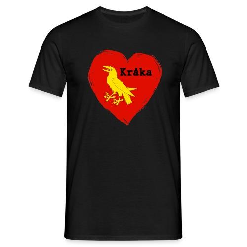 Kråka - T-skjorte for menn