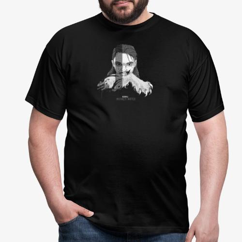 deerhill motivates 1 BW - Men's T-Shirt