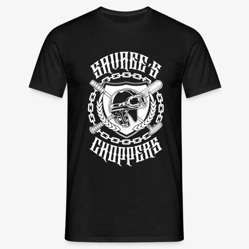 SAVAGE'S CHOPPERS # GENTLE - T-shirt Homme
