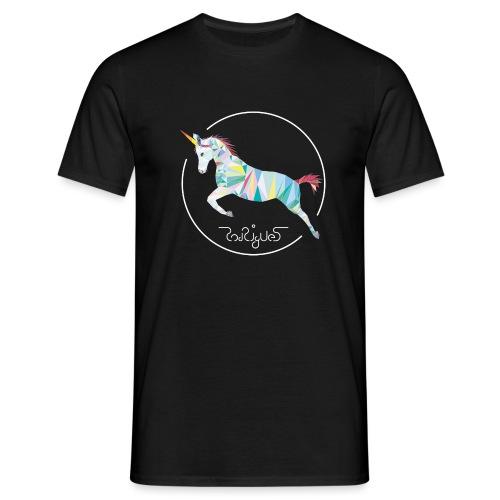 Einhornsiegel - Männer T-Shirt