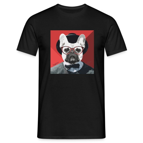 French Bulldog Artwork 2 - Männer T-Shirt