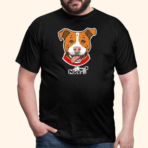 pitbull2 - Maglietta da uomo