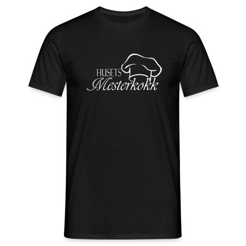 Mesterkokk-white - T-skjorte for menn