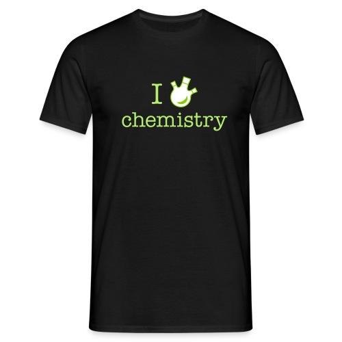 yellowibis iheartchem vec - Men's T-Shirt