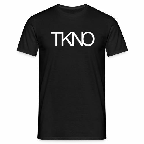 TKNO MNML Techno Minimal dark Tekkno Rave Kind - Männer T-Shirt