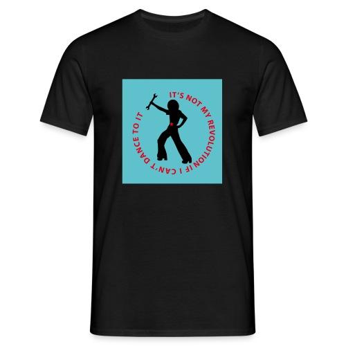 Revolution Dancerblu BG - Männer T-Shirt