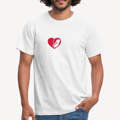 I LOVE THE UNBORN - Men's T-Shirt