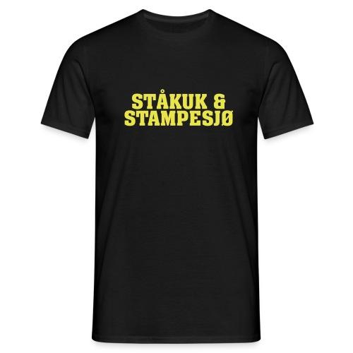 stakuk Vector - T-skjorte for menn