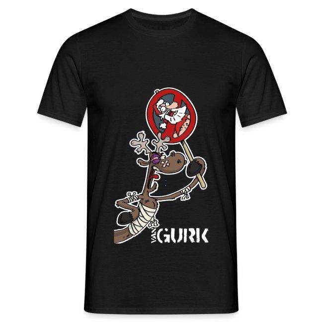 VAN GURK Rentier FLitzer mit Logo VAN GURK weiss