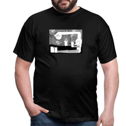 Himmel aus Punkten - Männer T-Shirt
