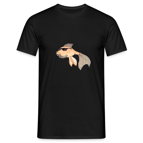 gudrun goldfisch Kopie - Männer T-Shirt