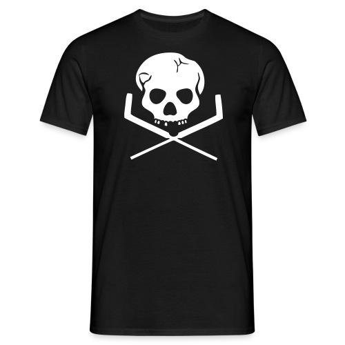 skullgoalie - Herre-T-shirt