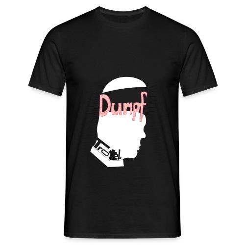 DT Black T Shirt - Männer T-Shirt