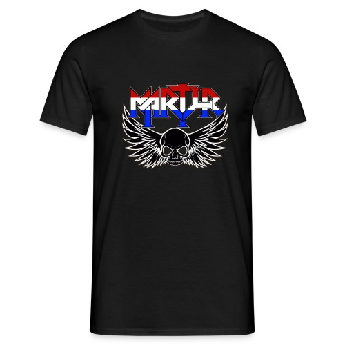 martyr_rwb_logo - Mannen T-shirt