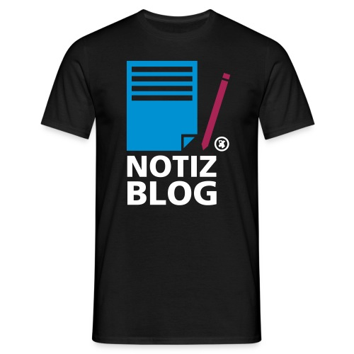 notiz-blog - Männer T-Shirt