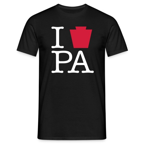 i keystone pa vector - Men's T-Shirt