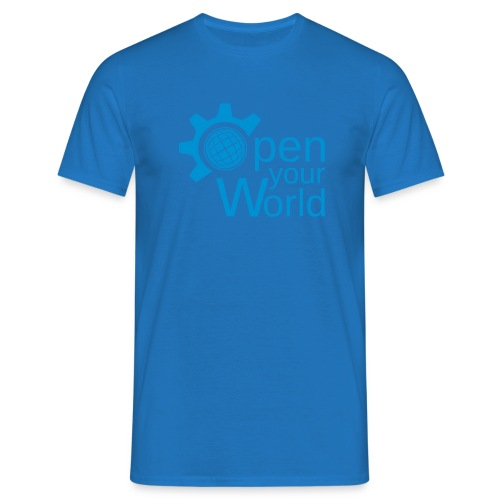 KDE - Open your world - Men's T-Shirt