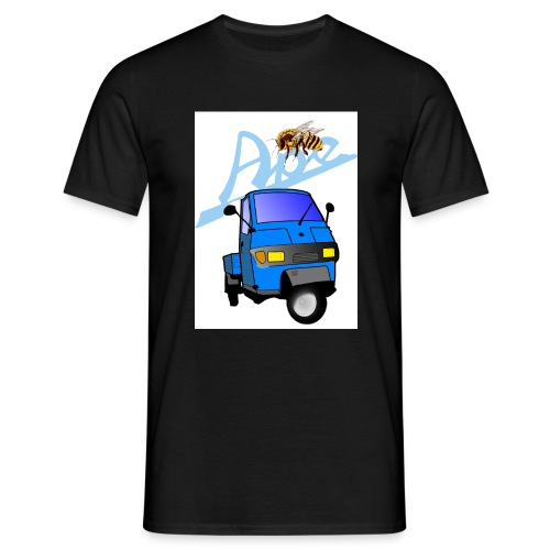 apepritsche blau - Männer T-Shirt