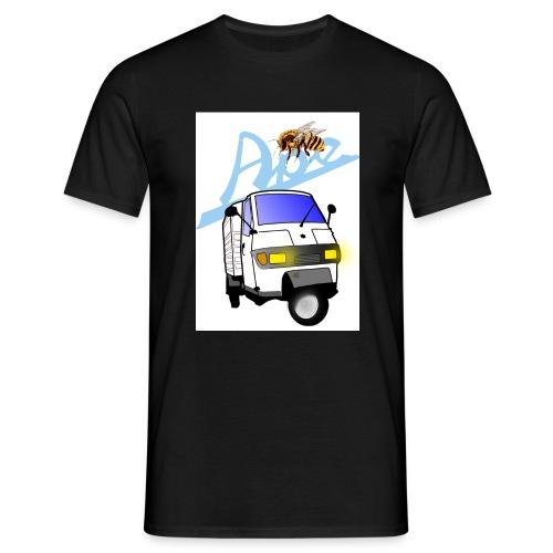 apeweiss - Männer T-Shirt