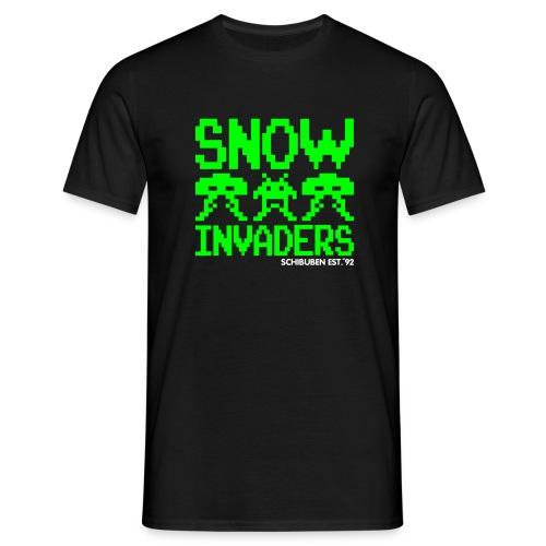 sb snowinvaders - Männer T-Shirt