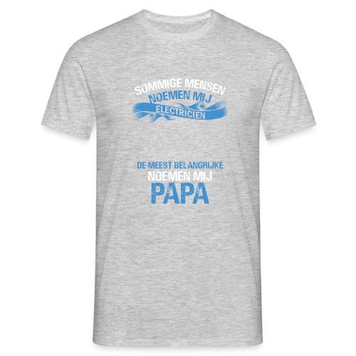 Electricien papa vaderdag cadeau. Cadeau-idee - Mannen T-shirt