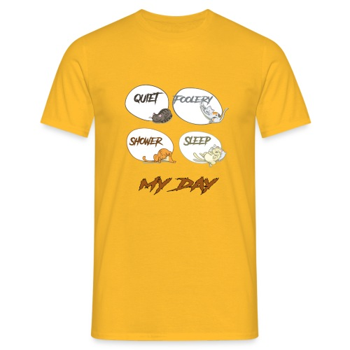 cat day - T-shirt Homme
