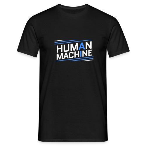 Human Machine Umanoide Robot Intelligenza AI - Maglietta da uomo