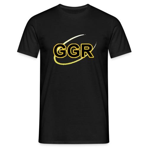 GOLDEN GROOVES RADIO LOGO - Men's T-Shirt