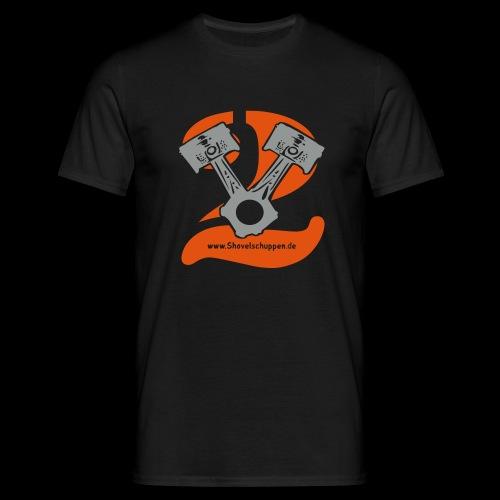 Kolben im V2-Stil - Männer T-Shirt