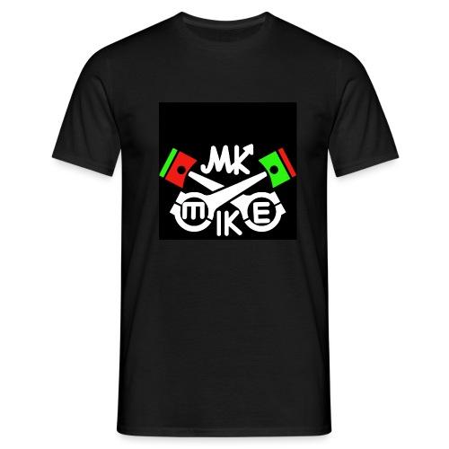 Mike logo musta jpg - Miesten t-paita