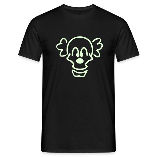 CLOWNSKULL_1c - Männer T-Shirt