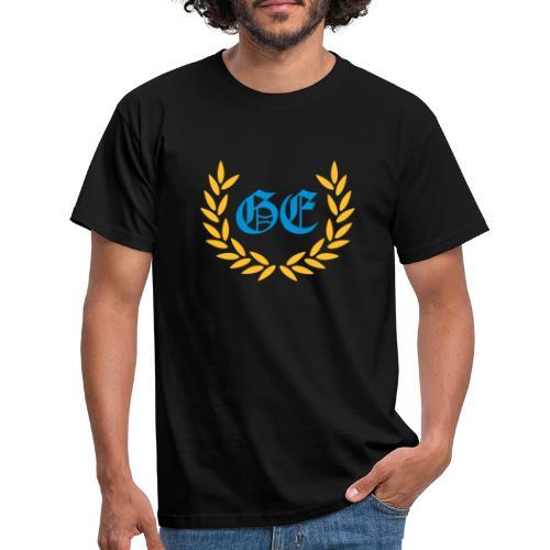 GE logo - Männer T-Shirt