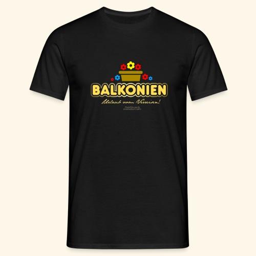 Balkonien T Shirt - Männer T-Shirt