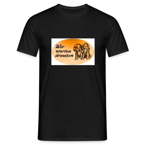 dackelovalorange - Männer T-Shirt