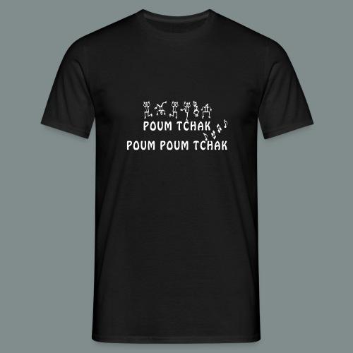 Batterie poum tchak - T-shirt Homme