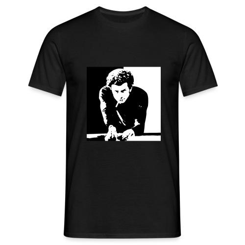 arte del biliardo bianco e nero roma - Maglietta da uomo